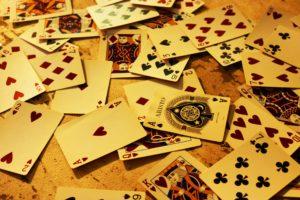 カジノで使うカード