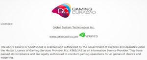 gaming_curacaoライセンス